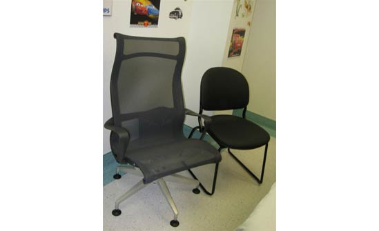 Heart of Champions funds used to purchase new chairs