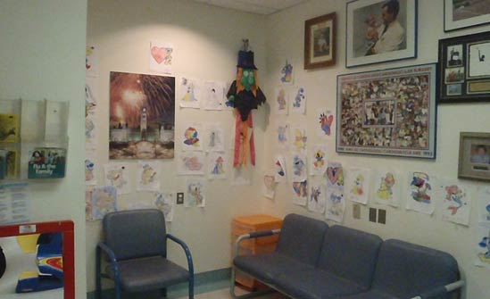 Heart of Champions proceeds spruce up cardiac exam rooms